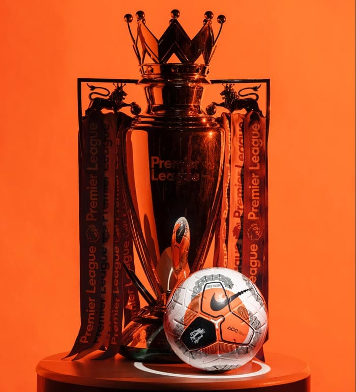 3ème ballon de match pour la saison 2019-2020 de Premier League