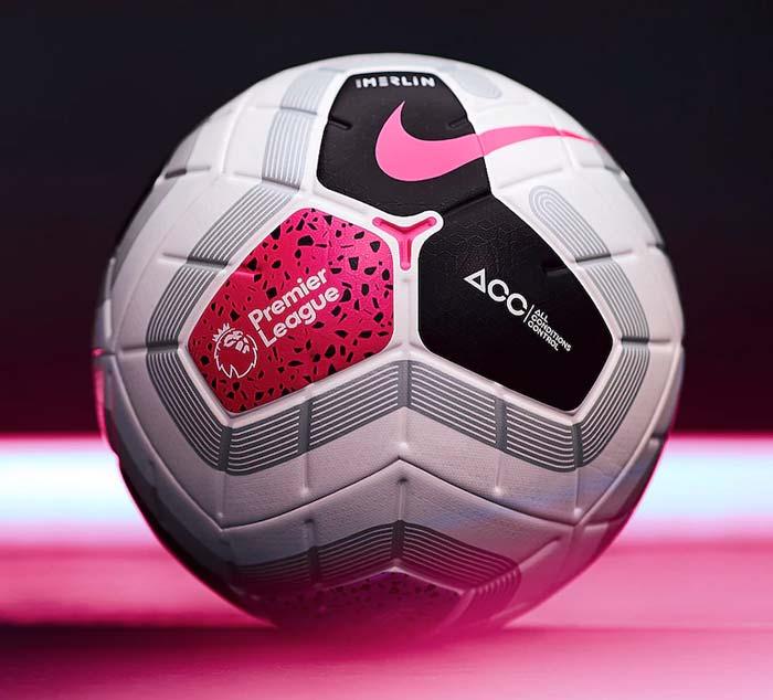 """Nouveau ballon de footall """"Merlin"""" Premier League"""