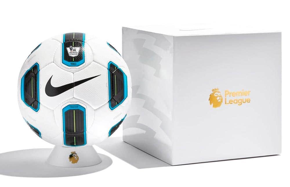 """Nike dévoile un ballon """"Anniversaire"""" T90 Tracer de la Premier League"""