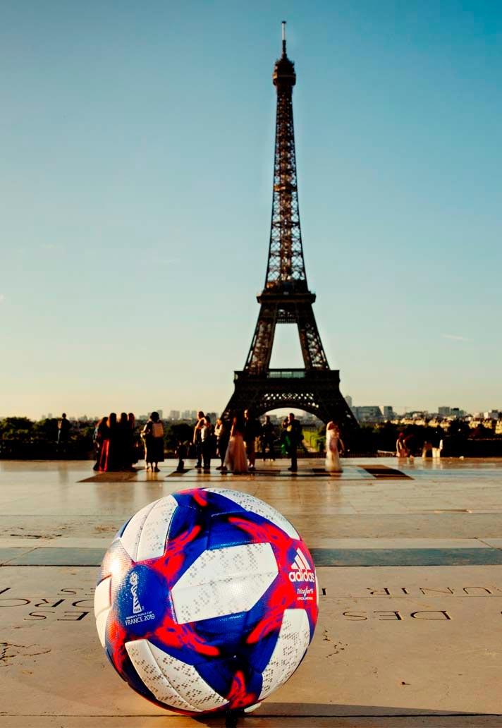ballon tricolore coupe du monde féminine 2019