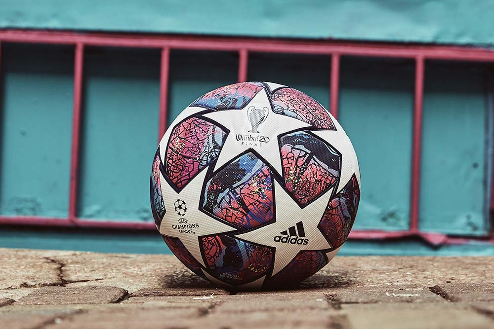 Ballon de foot adidas Istanbul 20 Ligue des champions 2020